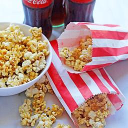 Coke Caramel Popcorn (Coke and Popcorn)