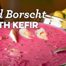 Cold Borscht with Kefir