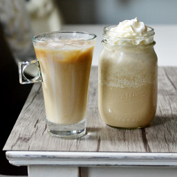 Cold Brew Coffee with Sweet Vanilla Cream