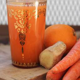 Cold Busting Orange Juice (Gluten Free and Vegan)