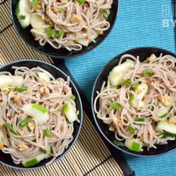 Cold Soba and Cucumber Salad