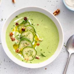 Cold Yogurt and Cucumber Soup