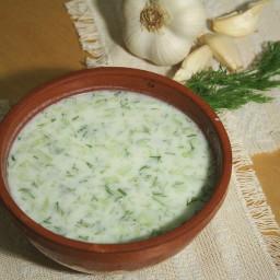 Cold Yogurt Soup