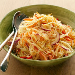 Coleslaw with Cumin-Lime Vinaigrette