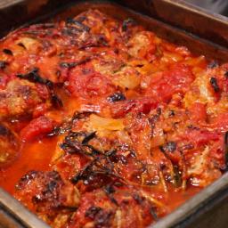 Colin Fassnidge's Pork Meatballs in Tomato Sauce