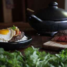 Colombian Steak & Eggs | Bistec a caballo