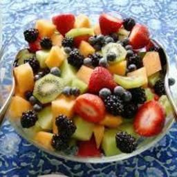 recipe for fruit salad colorful fruit
