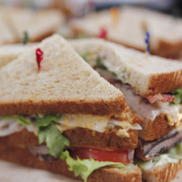 Colossal Club Sandwiches