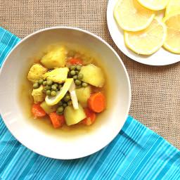 Comfort chicken Soup