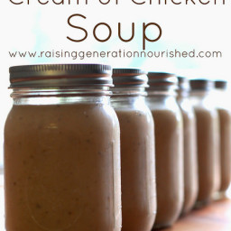 Condensed Cream of Chicken Soup