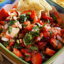 Cook Local - Strawberry Salsa