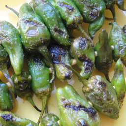 Cook the Book: Grilled Shishito Peppers with Sesame Oil and Salt