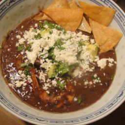 Cook the Book: Rick Bayless's Black Bean Soup