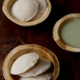 cooked rice idli - makes 15-18 idlis