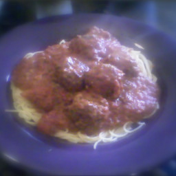 Cooks Illustrated Meat Balls and Spaghetti