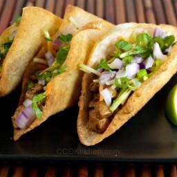 Copycat Applebee's Wonton Tacos
