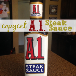 Copycat Homemade A.1. Steak Sauce Recipe!