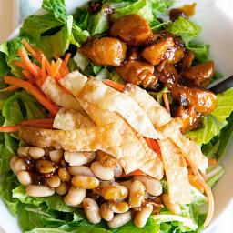 Copycat Houlihan's Asian Chicken Salad Recipe