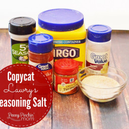 Copycat Lawry's Seasoning Salt
