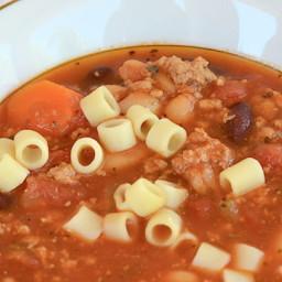 Copycat Olive Garden Pasta Fagioli Soup