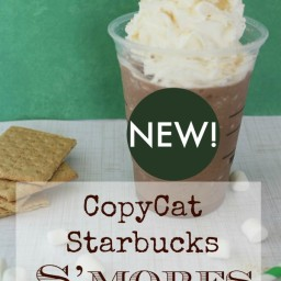 CopyCat Starbucks S'mores Frappuccino Recipe