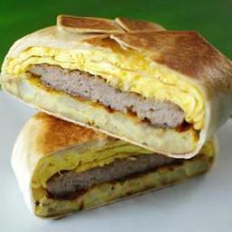 Copycat Taco Bell™ Breakfast Crunch Wrap