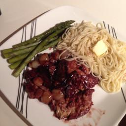 Coq Au Vin (Chicken Braised in Red Wine)