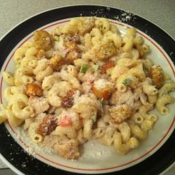 Corkscrew Chicken Caeser Salad