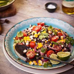 Corn and Black Bean Quinoa Salad