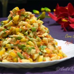 Corn Carrot Apple Salad
