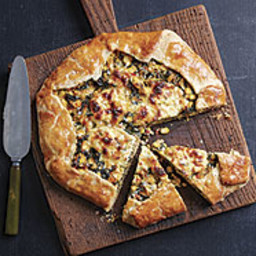 Corn, Chard, and Ricotta Galette