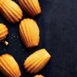 Corn Flour Madeleines