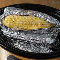 Corn on the Cob in a Slow Cooker
