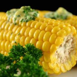 Corn on the Cob with Herbed Butter