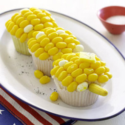 Corn-on-the-Cobcakes with Brown Butter Cream Frosting