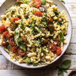 Corn, Tomato, and Avocado Pasta Salad