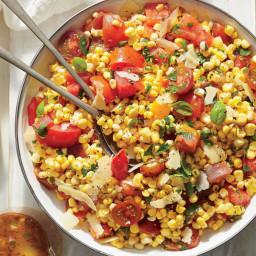 Corn, Tomato, and Basil Salad