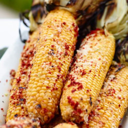 Corn with Aleppo Pepper and Lime Zest