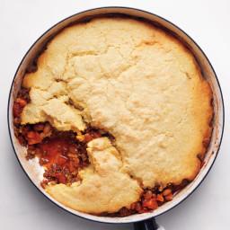 Cornbread-and-Chili Pie