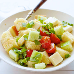 Cornbread Panzanella Salad