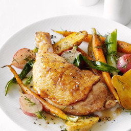 Cornbread Stuffed Chicken Roulades with Sarabeth's Orange-Apricot Marmalade