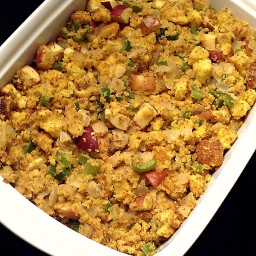 Cornbread Stuffing with Apples