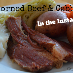 Corned Beef and Cabbage - In the InstantPot