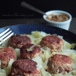 Corned Beef and Cabbage Meatballs (Low Carb and Gluten Free)