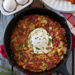 Corned Beef Breakfast Hash