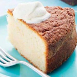 Cornish clotted cream cake