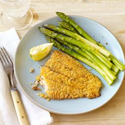 Cornmeal-Battered Oven-Fried Catfish