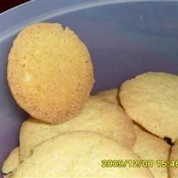 Cornmeal Coconut Cookies