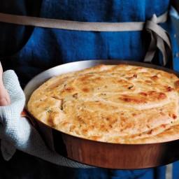 Cornmeal-Creme Fraiche Spoon Bread