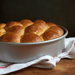 Cornmeal Molasses Rolls